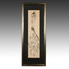 Calligraphy Scroll, Framed