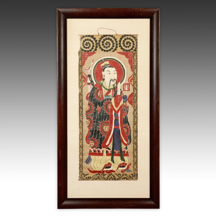 Taoist Shaman's Scroll, Framed