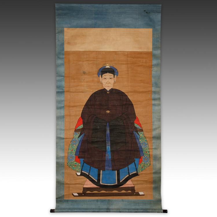 Ancestor Portrait Scroll