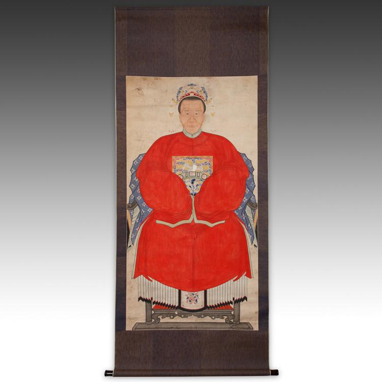 Ancestor Portrait Scroll