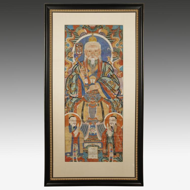 Temple Scroll, Framed