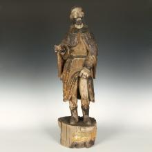 Standing Figure Depicting Saint Roch