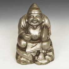 Seated Figure Depicting Scholar with Fish