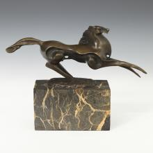 Modernist Figure of a Rearing Horse