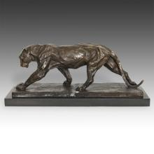 Striding Figure of a Panther