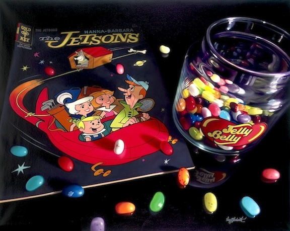 THE JETSONS Photorealism Artwork, Limited Edition by Doug Bloodworth, Very Creative Design! Large 19