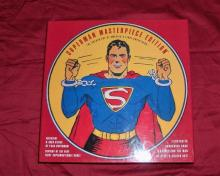 DC Comics Superman Masterpiece Edition Includes Statue, Comic and Illustrated Hardcover Book! New!! See Nice Photos!