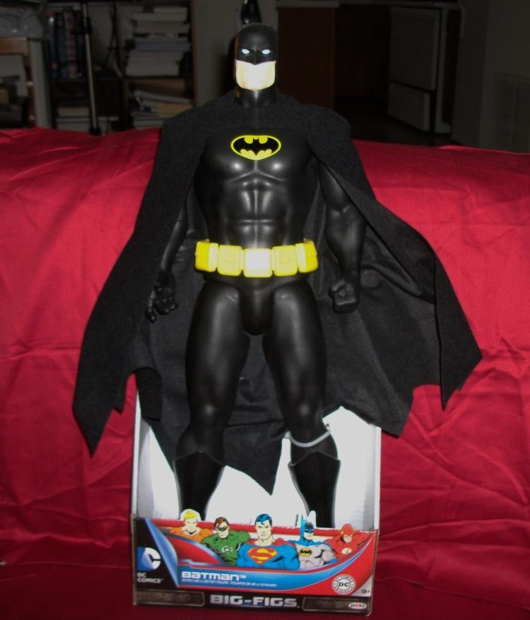 Full Size 19 Inch DC Comics Batman Action Figure Future Collectible Edition