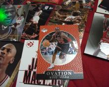 L@@K! Large Assorted Collection of Michael Jordan MJ NBA Trading Cards Includes Some Refractors! 19 Cards in ALL!