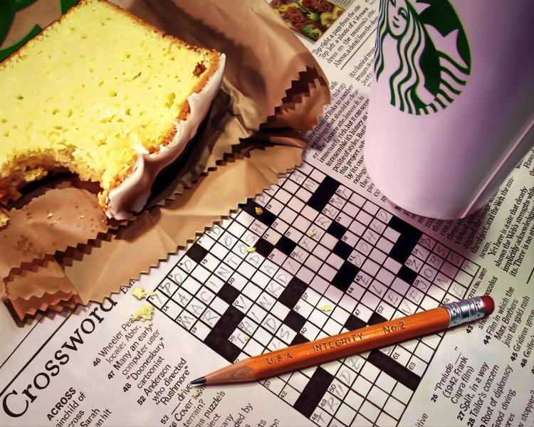 Doug Bloodworth Photorealism Art NY Times Crossword for