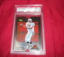 1995 DAN MARINO PROLINE PRO BOWL NFL TRADING CARD, GRADED PSA 8 NM-MT