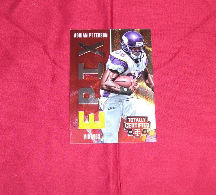 2014 Adrian Peterson EPIX Game Worn