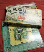 1962 Transogram McHale's Navy Game ABC-TV Show. All Pieces Included & Box Fully Intact. Nice Condition. SEE ALL PHOTOS.