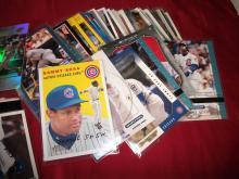 HUGE Lot of Sammy Sosa MLB Baseball Cards, 90 Cards in Lot Bargain UNGRADED. Auction.