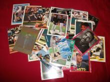 HUGE Lot of Barry Bonds MLB Baseball Cards, 48 Cards in Lot Bargain UNGRADED. Auction.