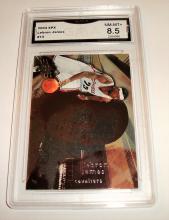 2004 Upper Deck SPX Lebron James #13 NBA Trading Card GRADED GMA NM-MT+ 8.5.