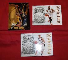 Bargain Lot of 3 NBA Trading Cards Kobe Bryant, Jason Kidd & Dwyane Wade. UNGRADED APPEAR MINT/NEAR-MINT.