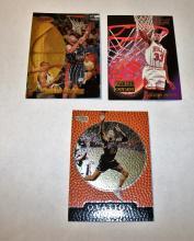 Bargain Lot of 3 NBA Trading Cards Scottie Pippen, Charles Barkley & Dennis Rodman UNGRADED APPEAR MINT/NEAR-MINT