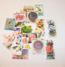 Worldwide Stamps Singapore & Bhutan Stamps