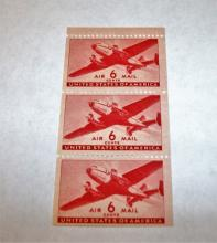 US Stamps Scott# C25 Airplane 6 Cents