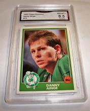 1993 Topps Danny Ainge #13 NBA Trading Card GRADED GMA 8.5 NM-MT+.