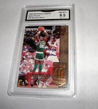 1999 Upper Deck Robert Parrish HOF Legends #46 NBA Trading Card GRADED GMA NM-MT+ 8.5.