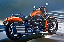 Harley Davidson by Frank karper