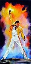 Freddie Mercury by Hector Monroy