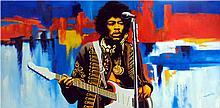 JImi Hendrix by Hector Monroy
