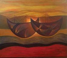 Lover Boats by Hector Anaya