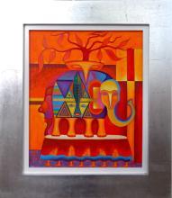 Indian Elephant by Hector Anaya