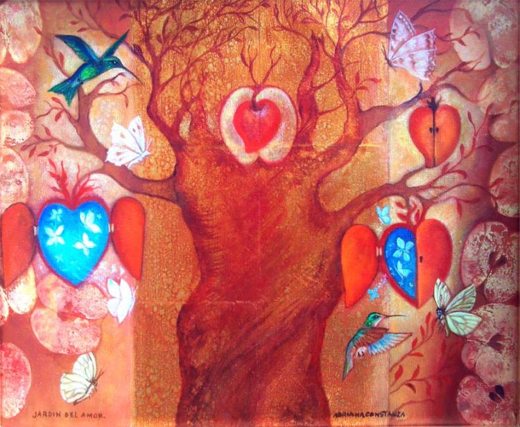 Tree of Love by Adriana Constanza