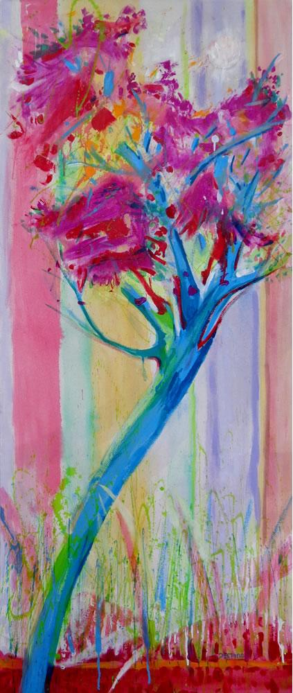 Purple Tree by Beatriz Valdespino