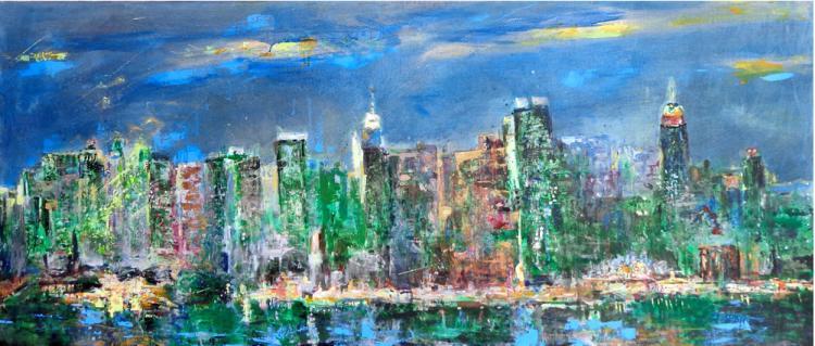 New York City by Beatriz Valdespino