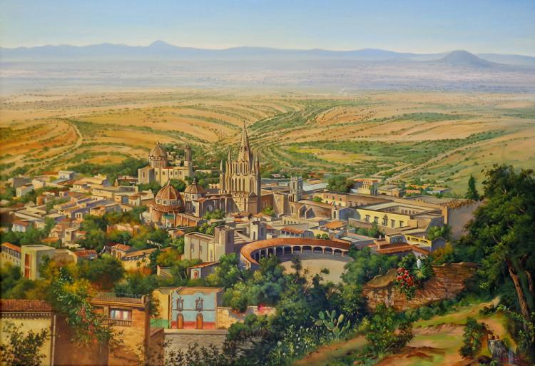 San Miguel de Allende by Escalante