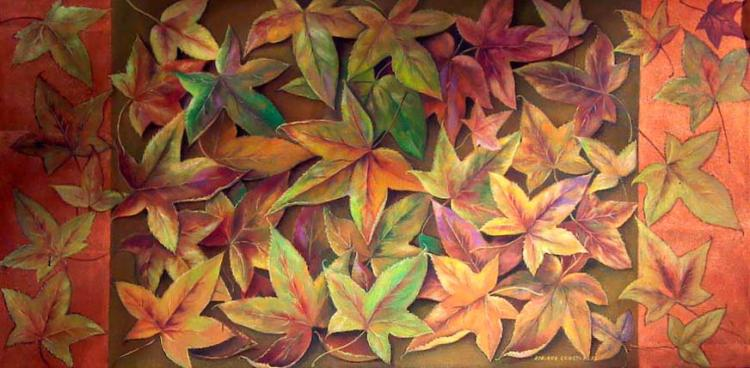 Autumn Leaves by Adriana Constanza
