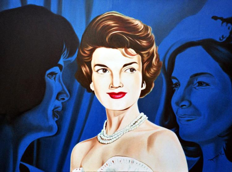 Jackie Kennedy by Hector Monroy