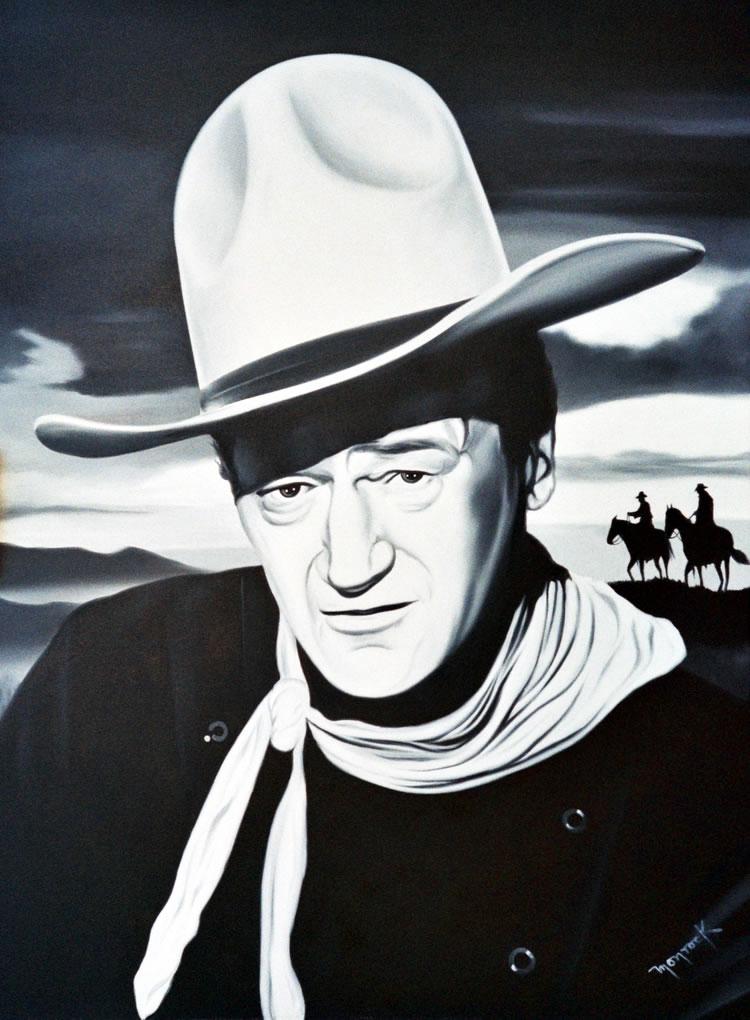 John Wayne by Hector Monroy