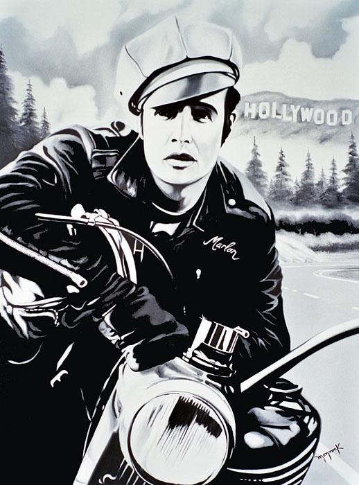 Marlon Brando by Hector Monroy