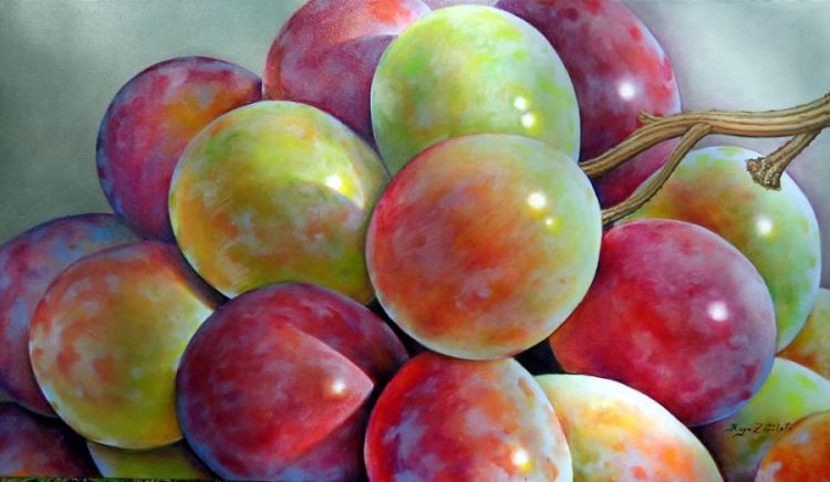 Grapes II by Hugo Zavaleta