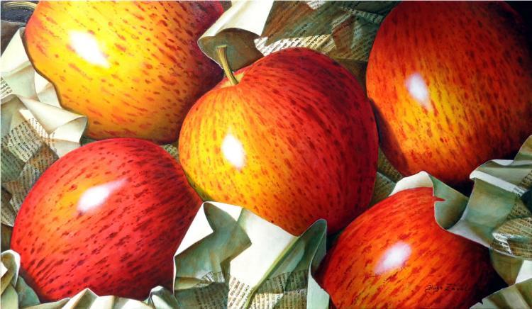 Royal Apples by Hugo Zavaleta