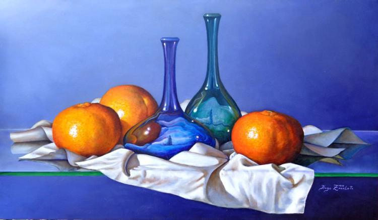 The Blue Bootles by Hugo Zavaleta