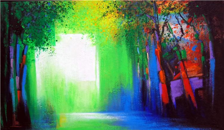 Light in the Street by Jose Alvarez