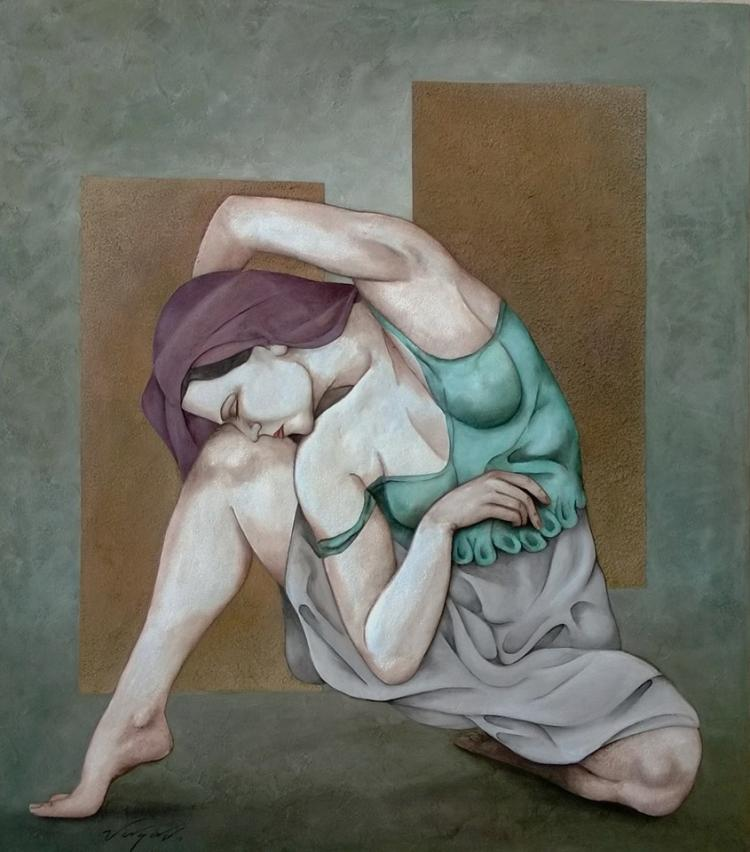 Contorting by Jorge Vargas