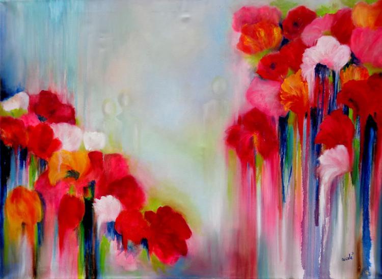 Warm Flowers by Nicole Denarie
