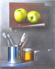 Still Life with Apples by manuel Ramos