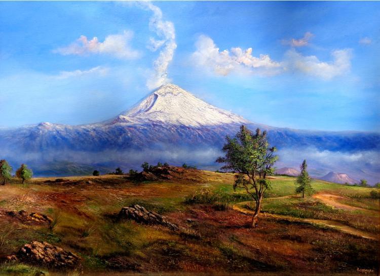 Popocatepetl by Espinosa