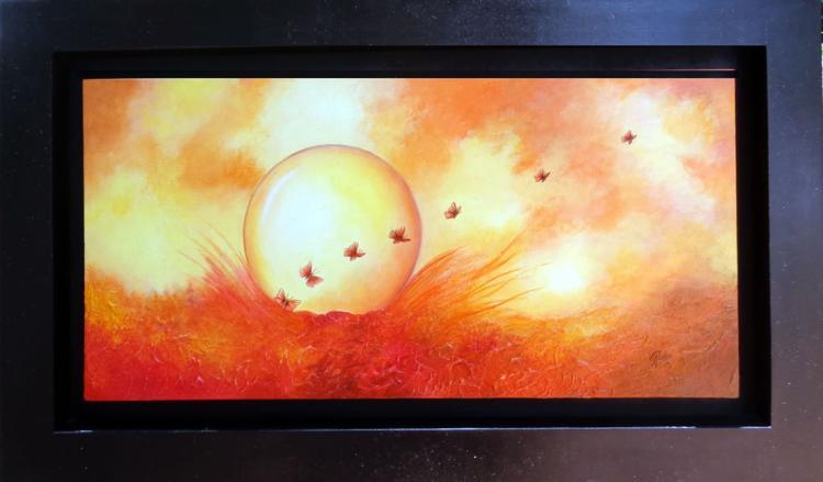 Sphere of Fire by Rocio Arroyo