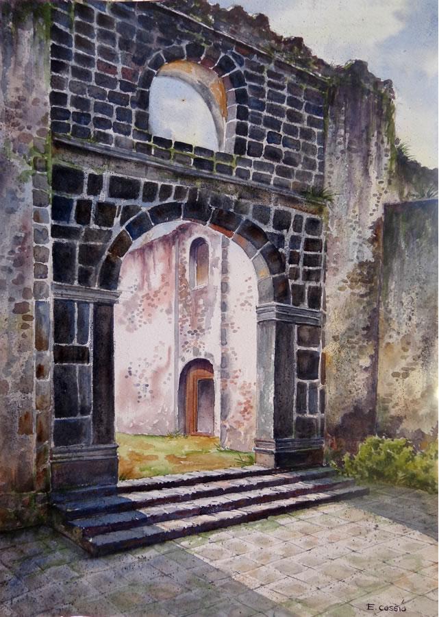 ExConvento de Culhuacan by Ernesto Cossio