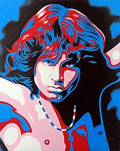 Jim Morrison by Hector Monroy
